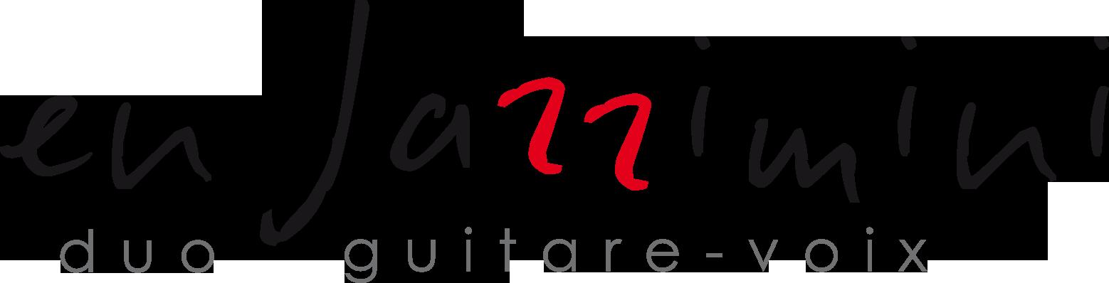 En Jazzimini duo guitare-voix - reprises arrangées de chansons françaises - jazz - latinos